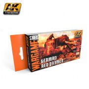 GERMAN RED PRIMER SET (WARGAME SERIES) - AK1124